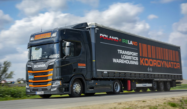 Expansion of the fleet with HGVs compliant with the Euro 6 standard