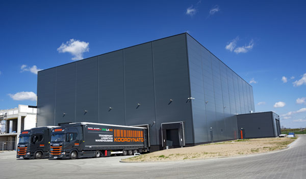 Opening of the new business office together with the warehouse